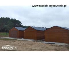 Garaż PREMIUM drewnopodobny panel POZIOM