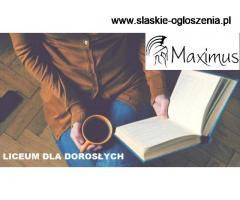 Zaoczne Liceum dla Dorosłych! Zapraszamy do MAXIMUS!!