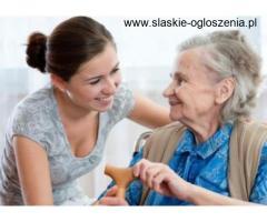 opiekunka dla osoby starszej